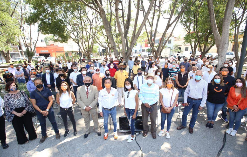 Presenta Pablo Lemus eje de propuestas 'Guadalajara bien chula'