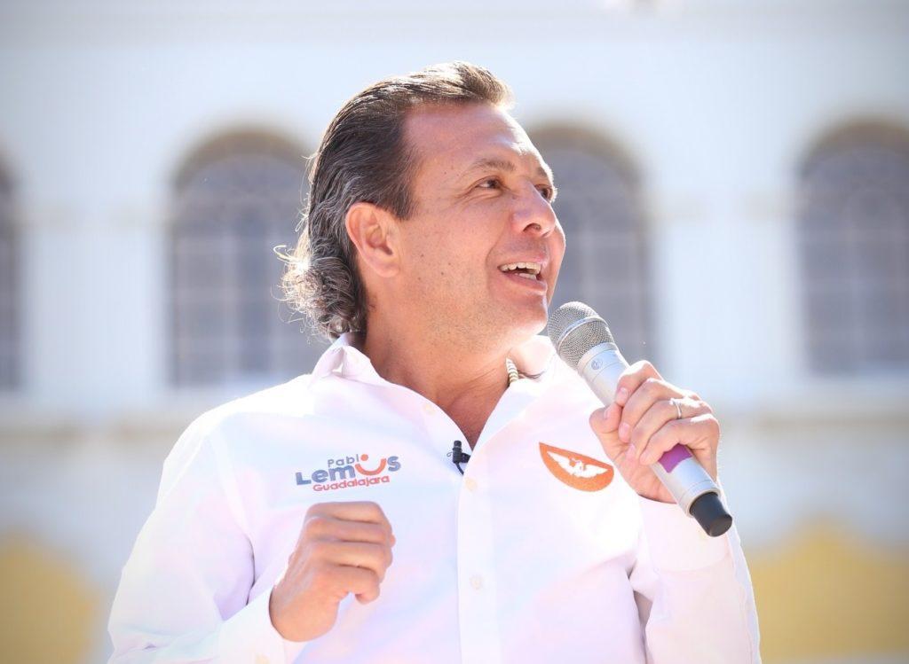 'Vamos a ganar Guadalajara': aventaja Pablo Lemus la preferencia del electorado tapatío