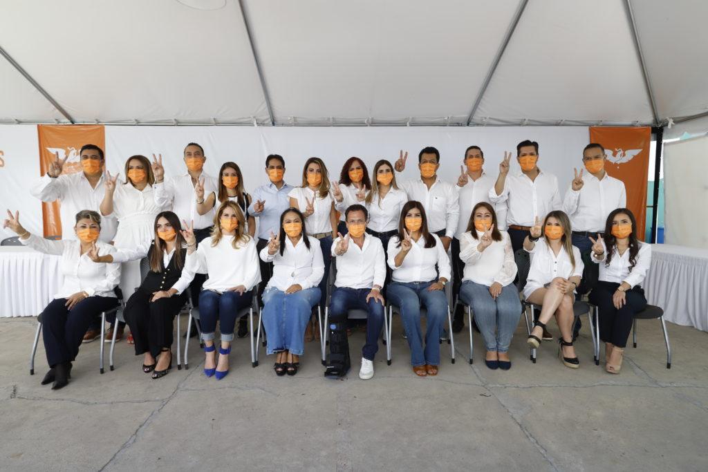 Presenta Pablo Lemus planilla de Movimiento Ciudadano que contenderá por Guadalajara