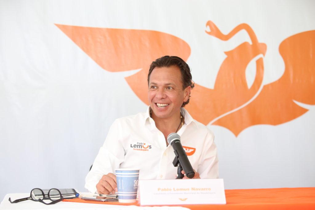 Presenta Pablo Lemus ejes de acción para su proyecto de gobierno en Guadalajara