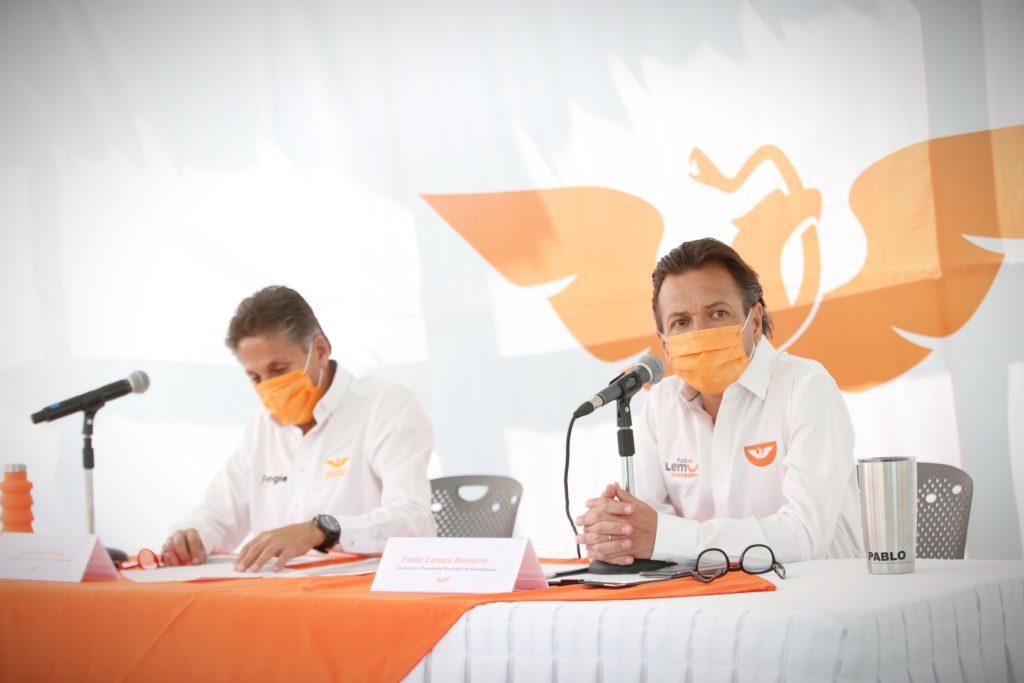 Presentan Lemus y Frangie Plan Integral para la Seguridad Ciudadana en Zapopan y Guadalajara