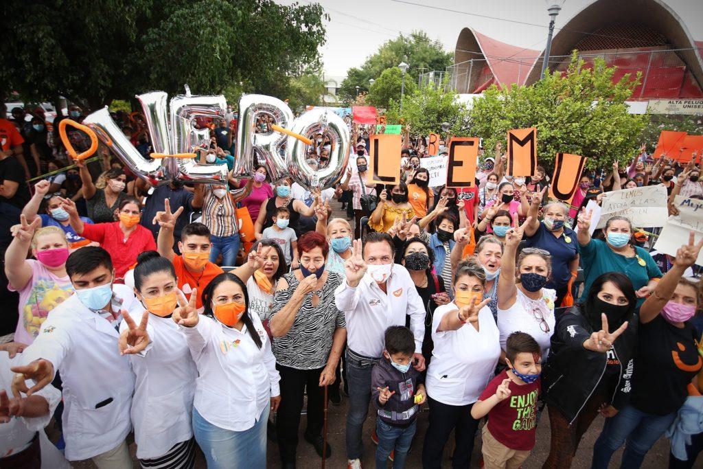 'Voy a estar cerca de la gente': dialoga Pablo Lemus con ciudadanos del distrito 11