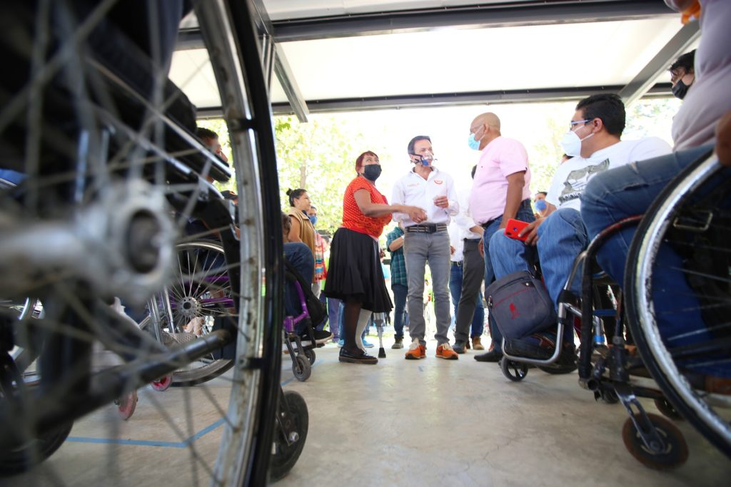 Presenta Pablo Lemus eje de propuestas para una Guadalajara más incluyente y accesible
