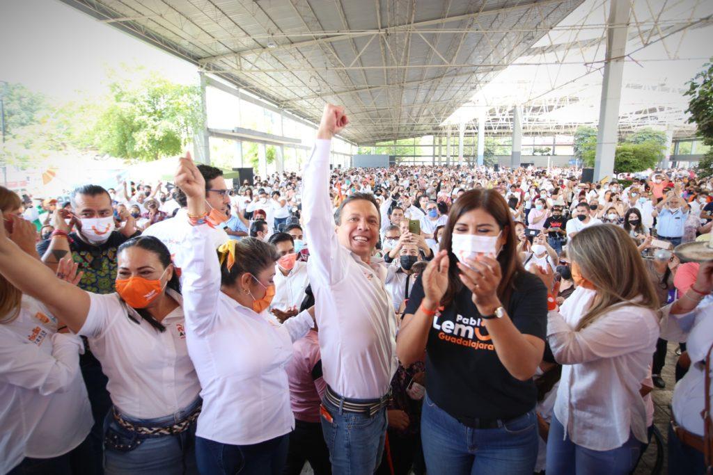 Listos cerca de 9 mil hombres y mujeres para defender el sufragio ciudadano en Guadalajara