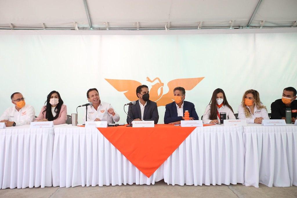 Convocan candidatas y candidatos de Movimiento Ciudadano a caminata por la defensa de Jalisco