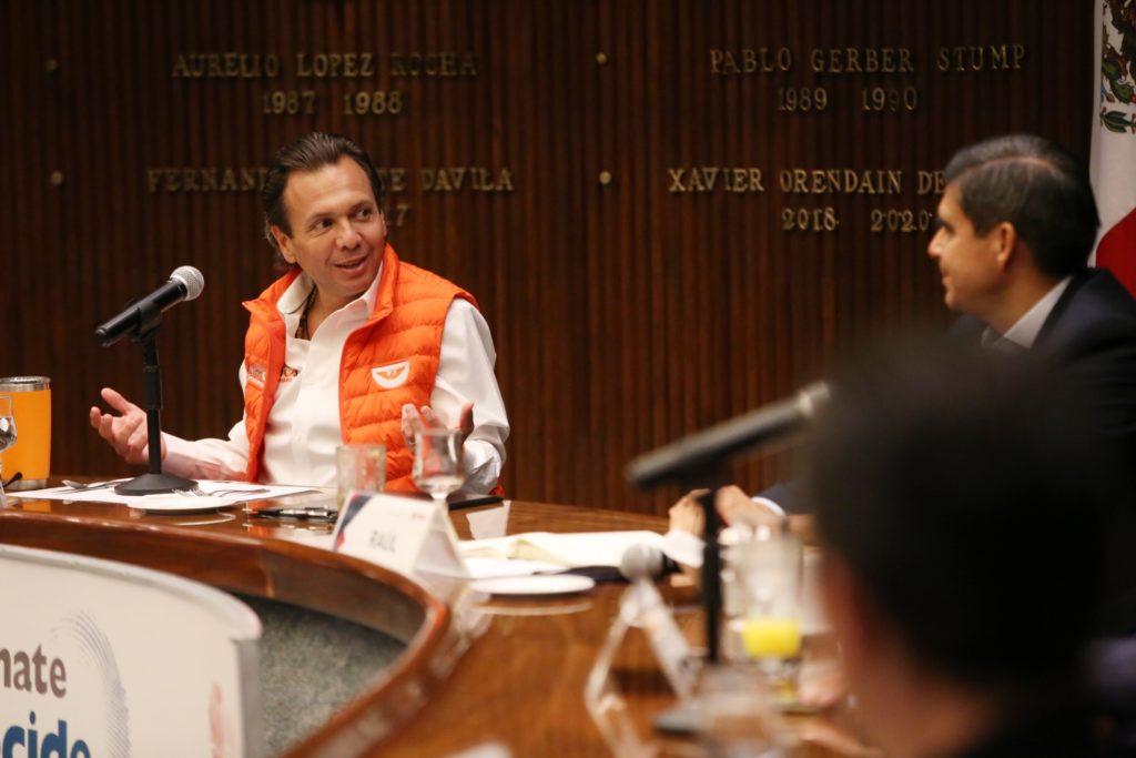 Refrenda Pablo Lemus compromiso para impulsar la reactivación económica en Guadalajara