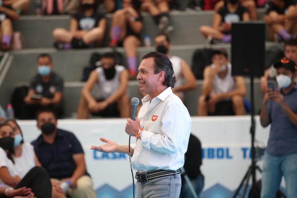 Una Guadalajara Bien Activa: presenta Pablo  Lemus sus propuestas para fortalecimiento del deporte