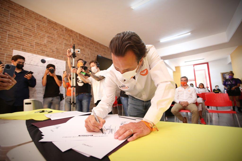 Suscribe Pablo Lemus compromiso 'Jalisco con Quimio' en favor de pacientes con cáncer