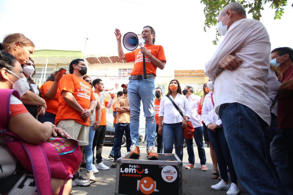 Recorrerá Pablo Lemus 40 colonias de la ciudad con rally 'Bien Pilas por Guadalajara'