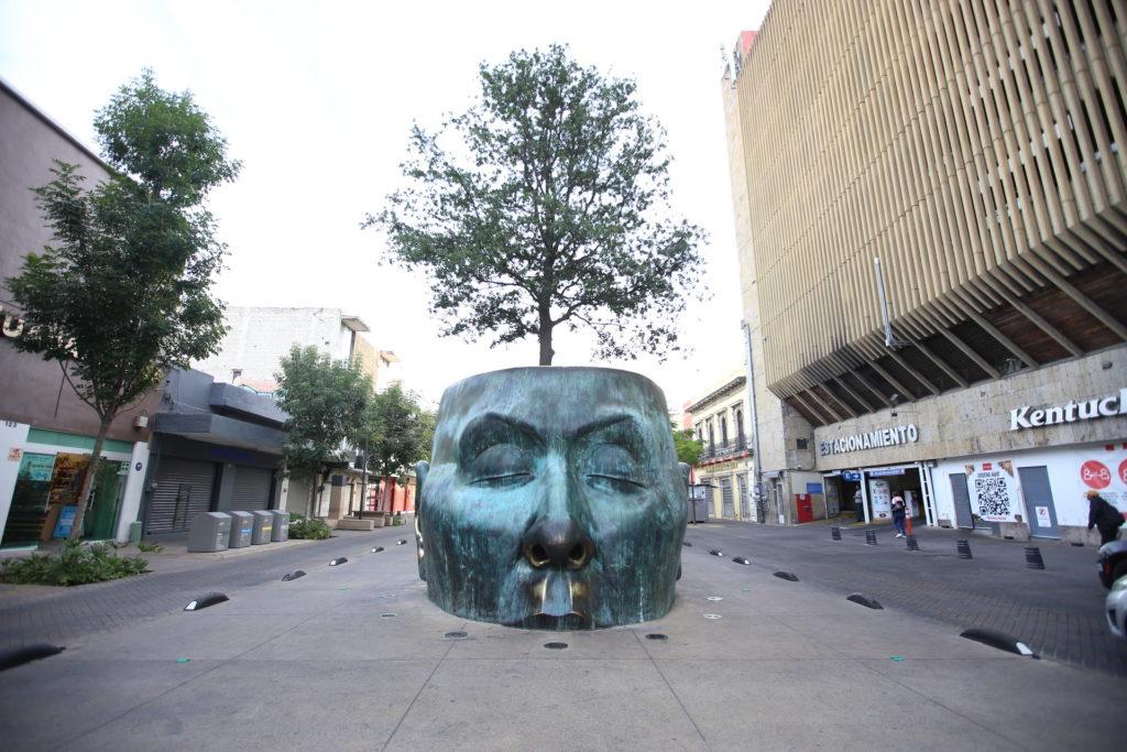 Paseo Alcalde en Guadalajara.